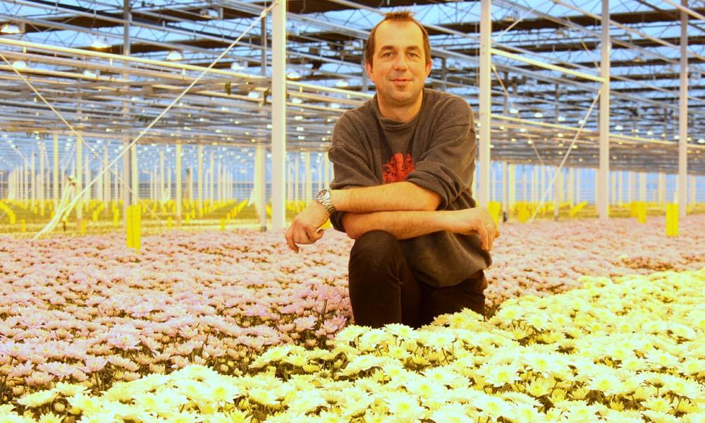 David van Tuijl in zijn bedrijf