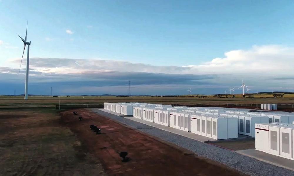 Tesla batterij Australie