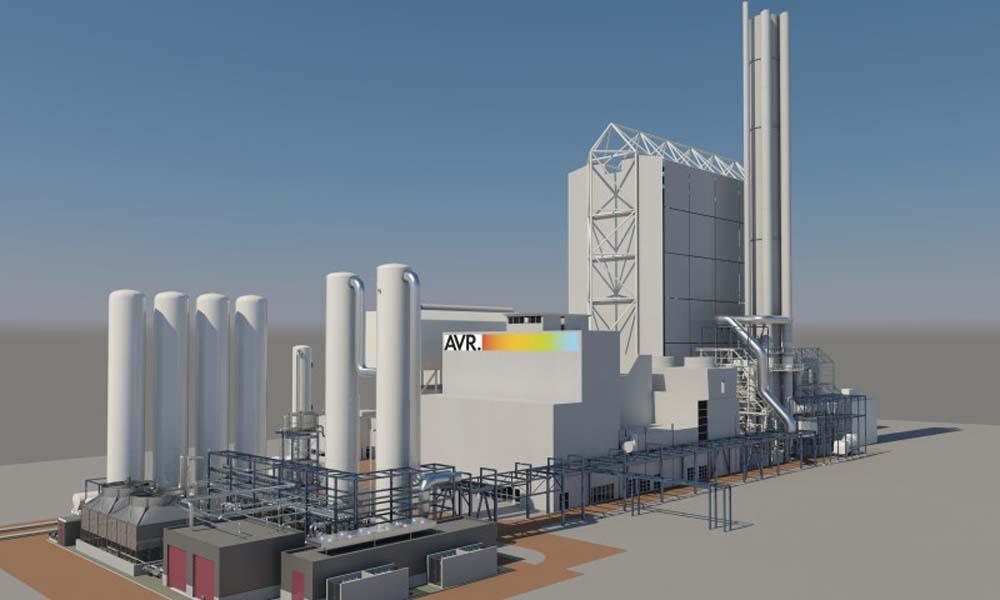Afvalenergiecentrale AVR in Duiven vangt CO2 af voor glastuinbouw