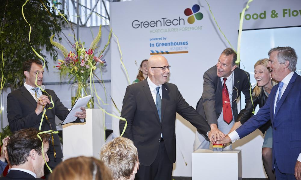 Tijdens de opening van de vakbeurs Greentech werden de GreenTech Innovation Awards uitgereikt.
