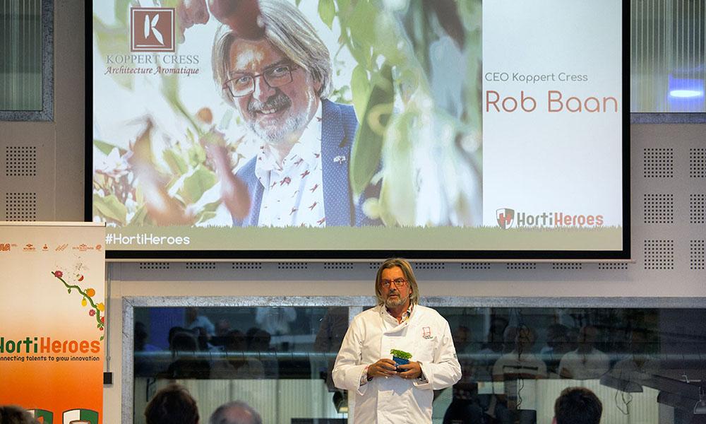 Rob Baan van Koppert Cress