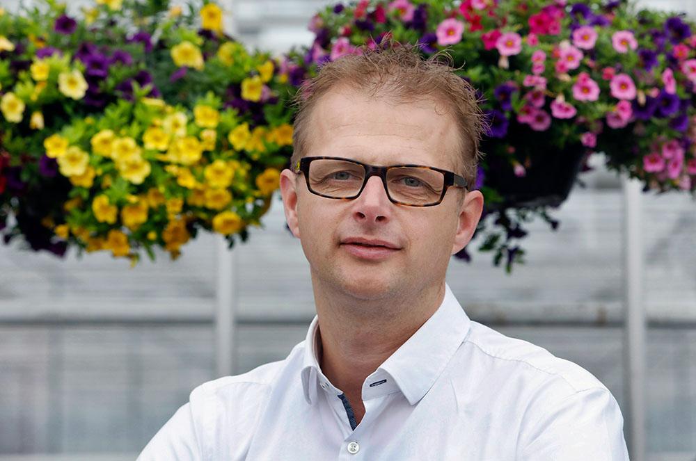 Dieter Baas, eigenaar van kwekerij Baas