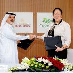 Het cateringbedrijf van luchtvaartmaatschappij Emirates investeert 40 miljoen dollar in de bouw van de grootste vertical farm ter wereld.