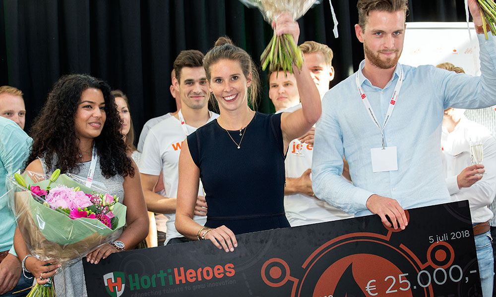 HortiCity wint HortiHeroes Academy Challenge 2018