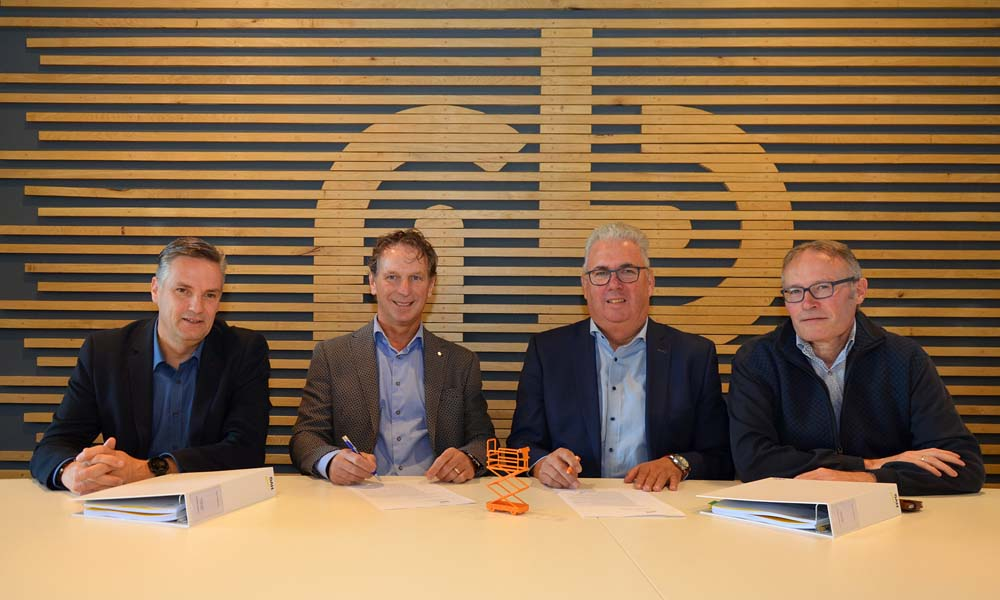 Ondertekening overname van Berg Hortimotive kan Royal Brinkman
