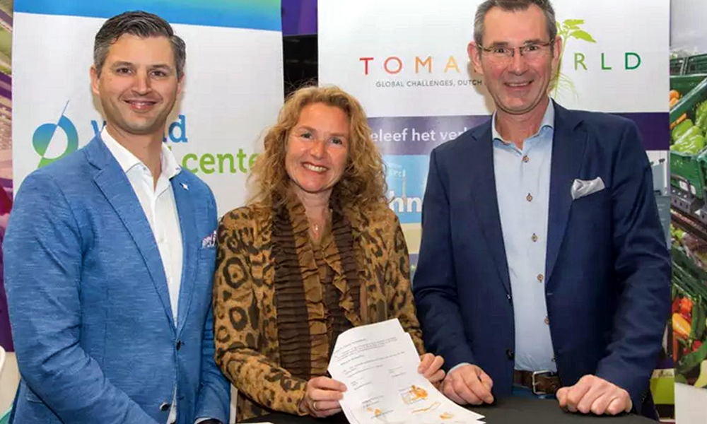 Wold Horti Center en Tomatoworld bundelen krachten