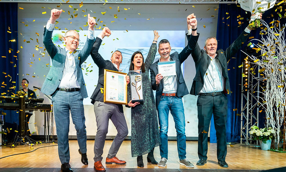 Gediflora gekroond tot International Grower of the Year 2019