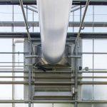 De installatie die Technokas bij Van der Lugt Lisianthus realiseert heeft wel meer capaciteit (zowel qua luchtdebiet als qua verwarmingsvermogen) dan de luchtbehandelingskasten die bij chrysanten worden toegepast.