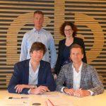 Ondertekening samenwerking technologie Nanobubbles
