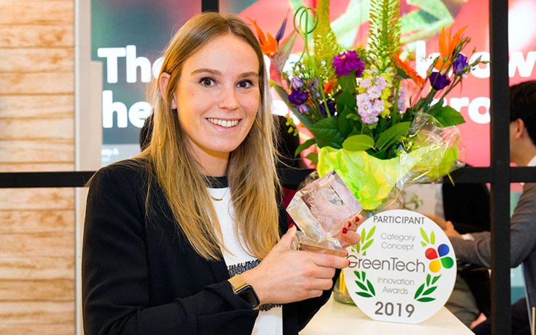 Trotse winnaars van de GreenTech Innovation Awards 2019 aan het woord