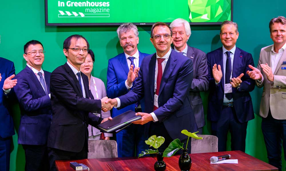 Dutch Greenhouse Delta tekent overeenkomst Chinees High-Tech Agriculture Park