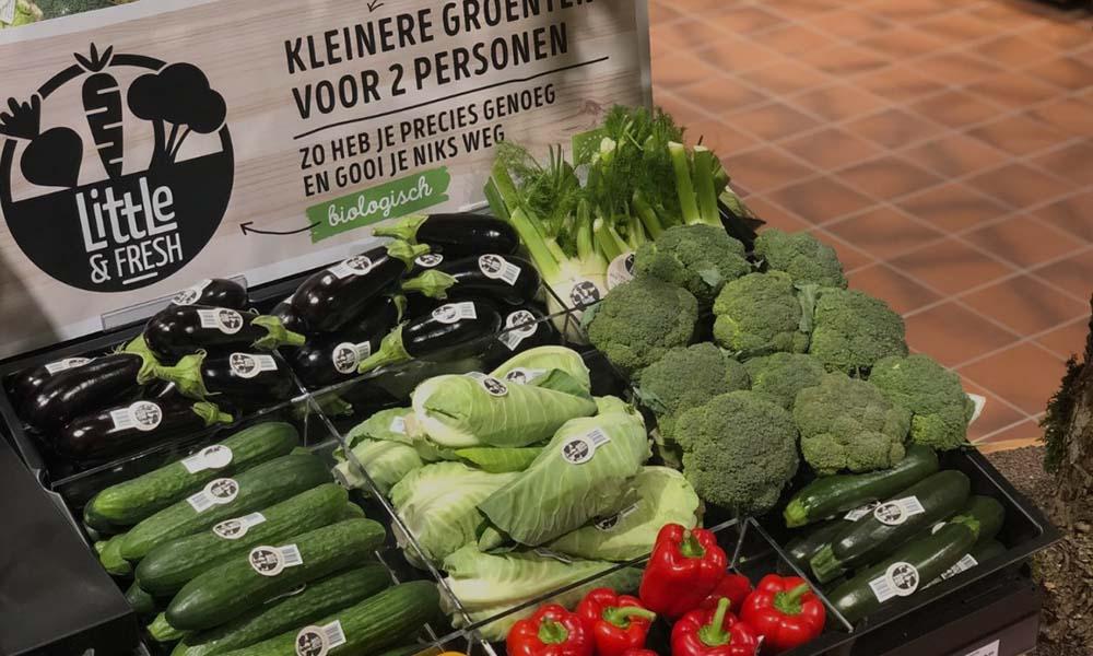 Kleinere huishoudens hebben behoefte aan kleinere groenten