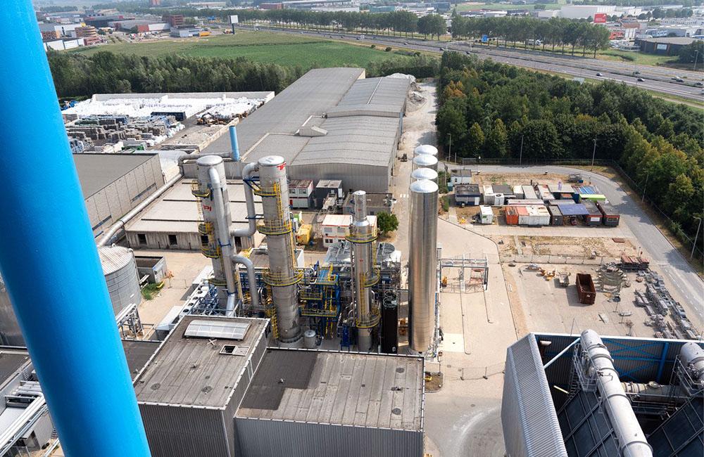 Afvalverwerker start met afvangen CO2 voor glastuinbouw