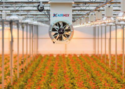 'Beter klimaat dankzij gesloten scherm en krachtige ventilator'