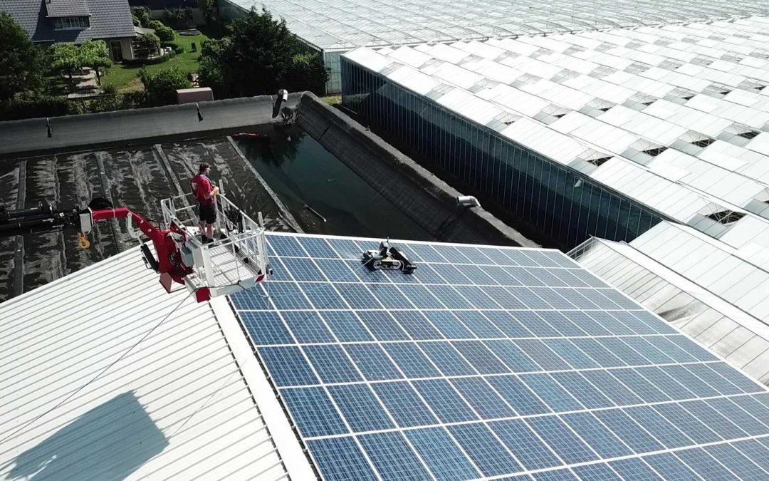 Schone zonnepanelen leveren hoger rendement op