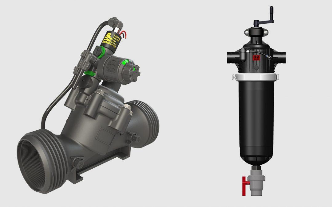 UVAR toont nieuwe drukregelaar en nieuw filter