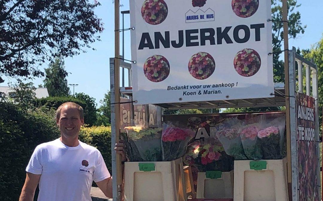 'Onze bloemenkraam heeft ons door de crisis gesleept'