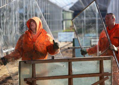 'Steeds vaker voorraadtekorten aan glas bij stormschade'