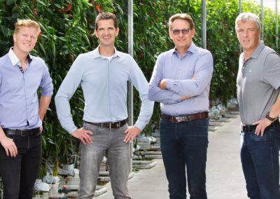 Drie paprika- en tomatenbedrijven samen verder als Frestia