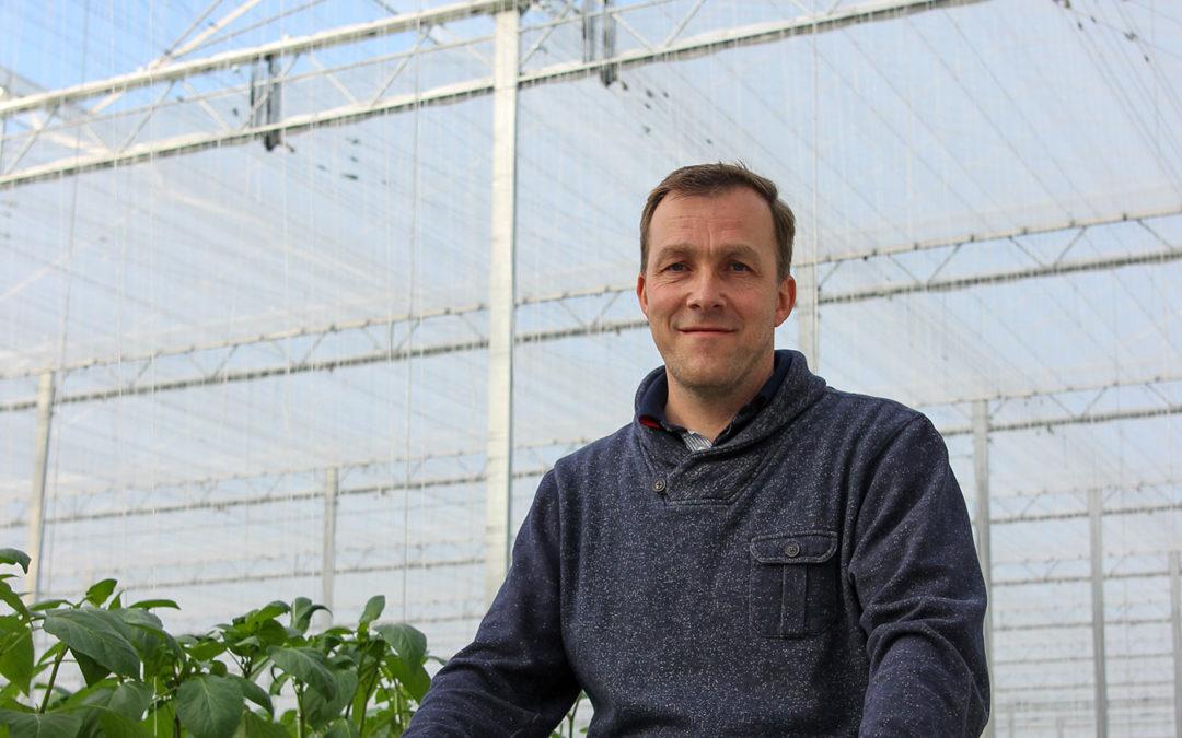 'Ik ben overtuigd dat zonnedoek zorgt voor beter kasklimaat'