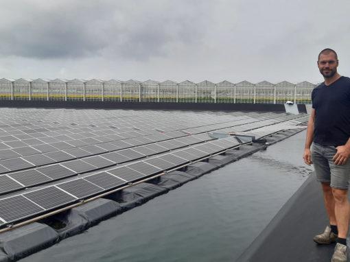 'Drijvende zonnepanelen creëren stukje risicospreiding'