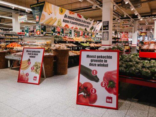 Nederlandse consument koopt steeds meer groenten en fruit