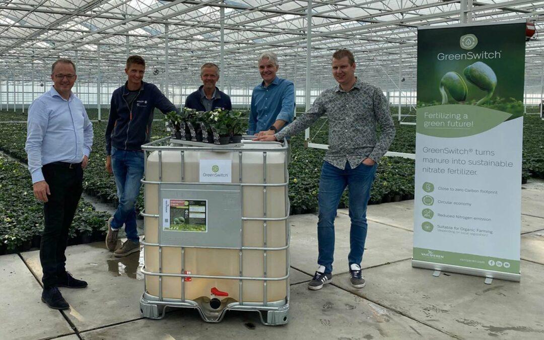 Hoogeveen Plants eerste gebruiker nieuwe innovatieve meststof